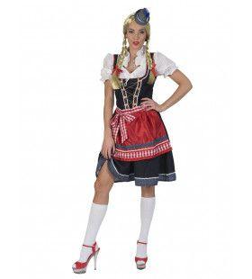 Annika Uit Beieren Bierfeest Vrouw Kostuum