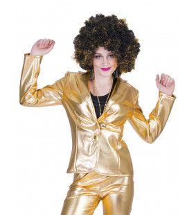 Disco Fever Jack Glinsterend Goud Vrouw