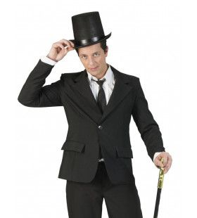 Deftig Zwart Colbert Chaplin Man