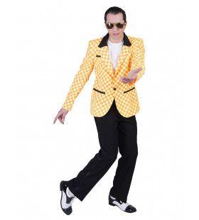 Jasje Bill Rock And Roll Oranje Geel Man