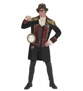 Steampunk Jules Verne Jas Man Kostuum