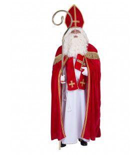 Weldoener Sint Nicolaas Man Kostuum