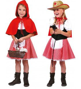 Sprookjesbos Roodkapje Meisje Kostuum