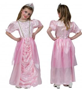 Charmante Charlene Roze Prinses Meisje Kostuum