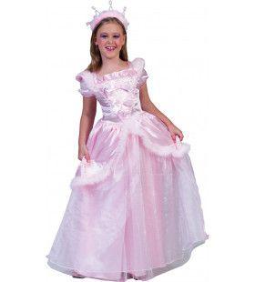 Roze Sprookjes Prinses Suikerspin Jurk Meisje