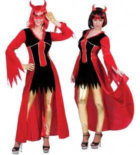 Vanessa Vagevuur Rode Duivel Vrouw Kostuum