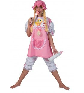 Grote Zuurstok Roze Baby Vrouw Kostuum