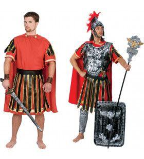 Spartaanse Veldheer Brasidas Man Kostuum
