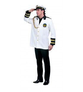 Kapitein Luxe Cruiseschip Caribische Zee