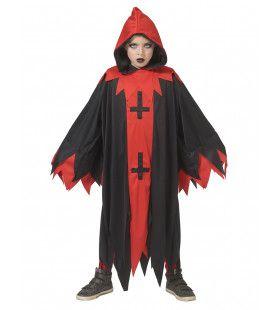 Duistere Voodoo Demon Kind Kostuum