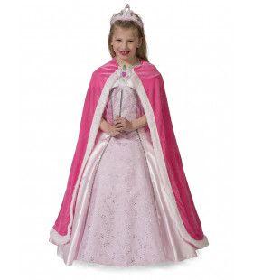 Queen Cape Pink Meisje