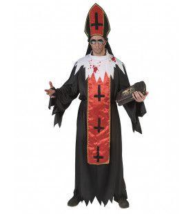 Horror Paus Duistere Religie Man Kostuum