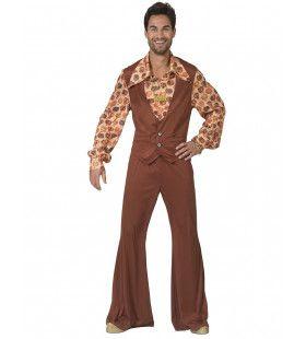 Jaren 70 Appels En Peren Fruit Man Kostuum