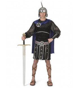 Heldhaftige Klassieke Romeinse Strijder Man Kostuum