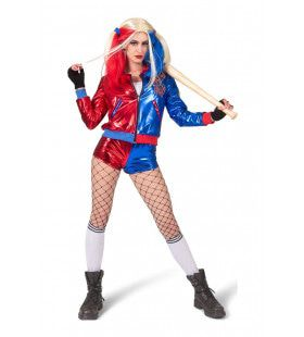 Hilarische Harley Vrouw Kostuum