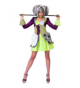 Valsspeler Casino Showgirl Vrouw Kostuum