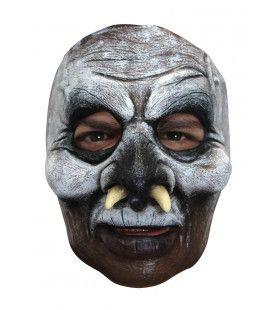 Masker Monster Met Neus Slagtanden Kostuum