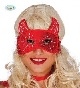 Oogmasker Rode Duivel