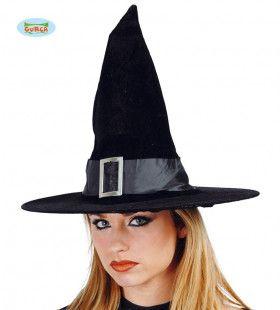 Fluwelen Hoed Toverheks Halloween