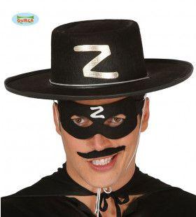 Slimme Vos Bandiet Zorro Hoed