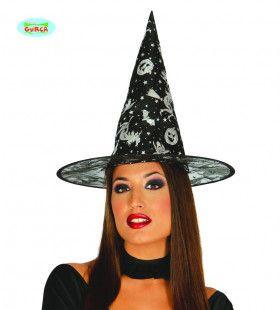 Hoed Heks Vol Halloween Symbolen
