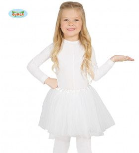 Witte Ballet Tutu Dansvoorstelling