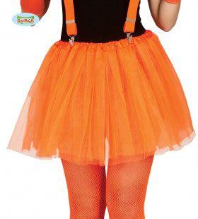 Disco Dansvloer Ster Tutu Oranje Meisje