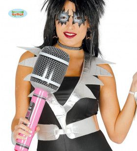 Grappige Opblaasbare Microfoon 50 Centimeter