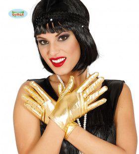 Gouden Handjes Handschoenen 22 Centimeter