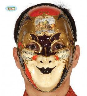 Venetiaans Masker Muzieknoten