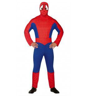 Spinnenheld De Geveltoerist Man Kostuum