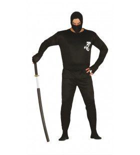 Meester Met Het Zwaard Ninja Man Kostuum