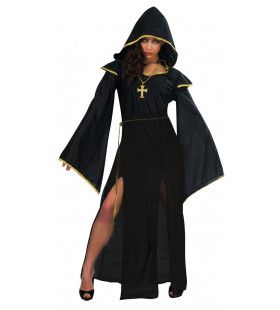 Gothic Non Vrouw Kostuum