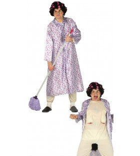 Bloot Grootmoeder Travestiet Kostuum