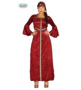 Royale Renaissance Prinses Vrouw Kostuum