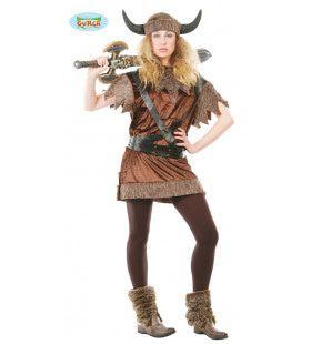Ontembare Viking Vrouw Kostuum