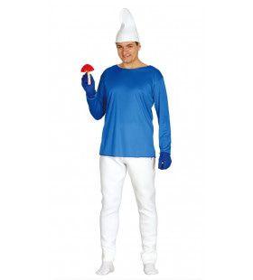 Feest Smurf Man Kostuum