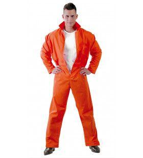 Amerikaanse Gevangene Guantanamo Man Kostuum