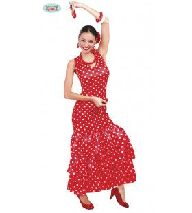 Flamenco Danseres Conchita Vrouw Kostuum