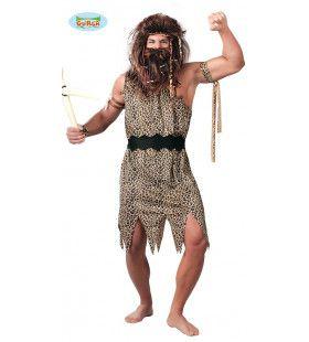 Barbaar Uit De Prehistorie Man Kostuum