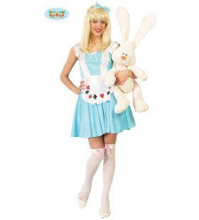 Aardige Alice In Wonderland Vrouw Kostuum