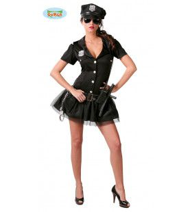 Tina Ticket Amerikaanse Politie Vrouw Kostuum
