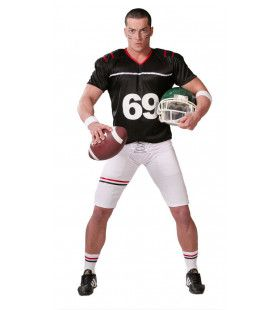 O.j. De Machtige Quarterback Man Kostuum