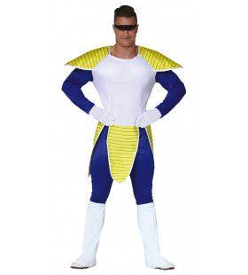 Buitenaards Space Samurai Man Kostuum