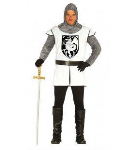 Onverslaanbare Middeleeuwse Ridder Man Kostuum
