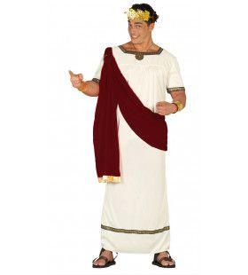Machtige Keizer Augustus Man Kostuum