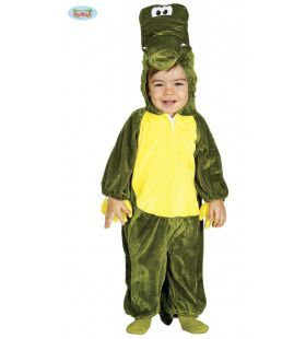 Hapgrage Nijl Krokodil Jongen Kostuum