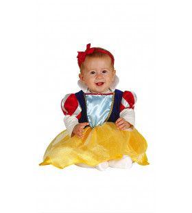 Mini Sneeuwwitje Prinses Baby Meisje Kostuum