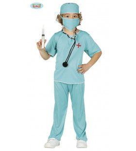 Dokter Spuit In Bil Jongen Kostuum