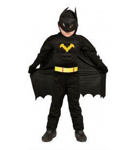 Bad Batman Jongen Kostuum